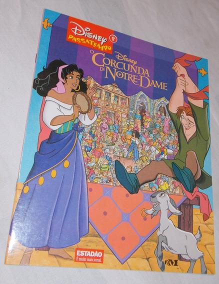 Revista Passatempo Disney O Corcunda De Notre Dame