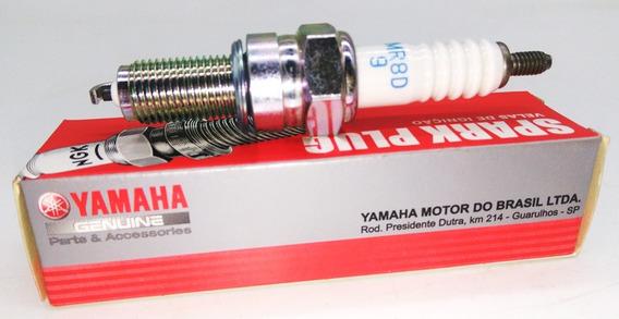 Vela De Ignição Yamaha Fazer 150 Original