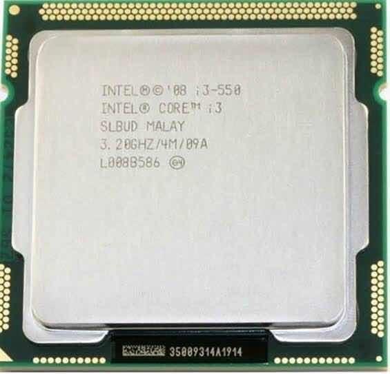 Processador Core I3 550 / Lga 1156