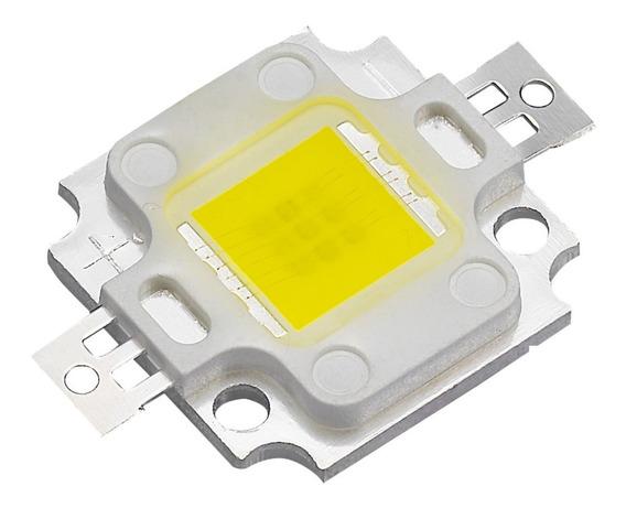 Super Power Led Chip 10w Varias Cores Aquário +resistor/past