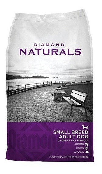 Diamond Naturals Small Breed Adult Chicken & Rice 18 Lbs/8kg