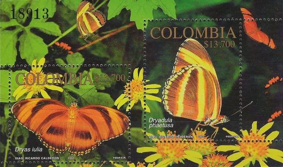 Fauna - Mariposas - Colombia - Hojita Block Mint