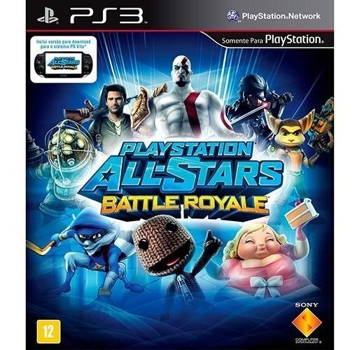 Jogo Playstation Allstars Battle Royale Ps3 Mídia Física