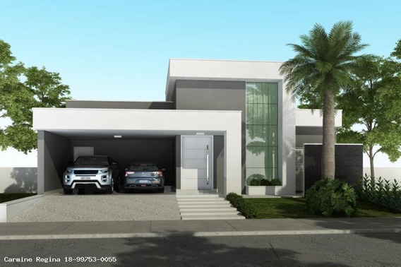 Casa Em Condomínio Para Venda Em Álvares Machado, Valência I, 3 Dormitórios, 1 Suíte, 3 Banheiros, 2 Vagas - 124