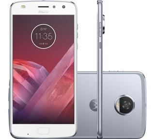 Motorola Moto Z2 Play Azul Topázio 4gb Ram 64gb Rom