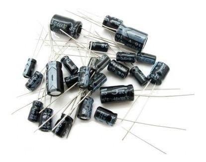 Kit 35 Capacitores Electroliticos Varios Valores Arduino