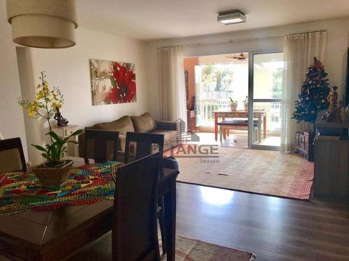 Imagem 1 de 26 de Apartamento À Venda, 134 M² Por R$ 1.100.000,00 - Parque Prado - Campinas/sp - Ap17689