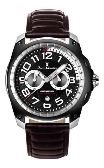 Relógio Jean Vernier Masculino Jv00099cm Cronógrafo Bicolor