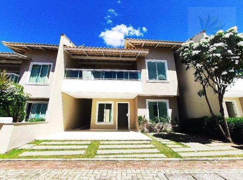 Imagem 1 de 30 de Casa Com 4 Dormitórios À Venda, 168 M² Por R$ 625.000,00 - Tamatanduba - Eusébio/ce - Ca0527