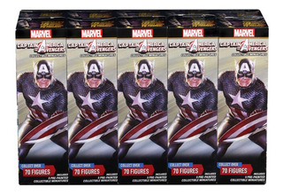 Marvel Heroclix: Captain America And The Avengers(brick)