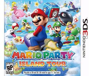 Mario Party Island Tour 3ds - Novo Lacrado - Aceito Trocas