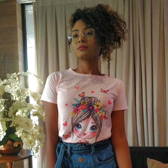 Blusas Feminina Atacado Kit 10 Blusinhas Tshirts + Brinde