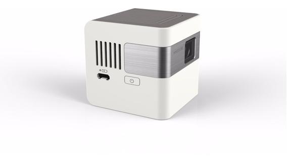 Projetor Inteligente Portátil Innocube + Estojo
