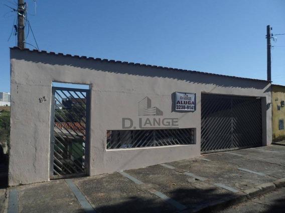 Casa Com Edícula Para Alugar - Parque Da Figueira - Campinas/sp - Ca12968