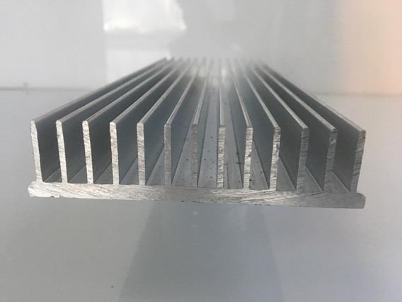 Dissipador De Calor Aluminio 40cm Comp.x10,5cm Larg.x2,5 Alt