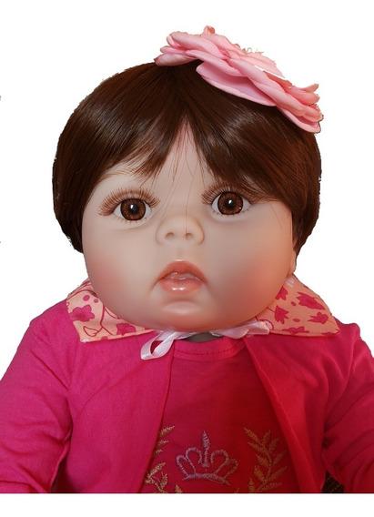 Bebê Reborn Realista Boneca Reborn Corpo De Silicone