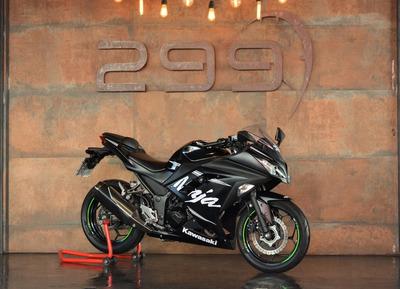 Kawasaki Ninja 300 - 2017 Apenas 5.559kms!!!