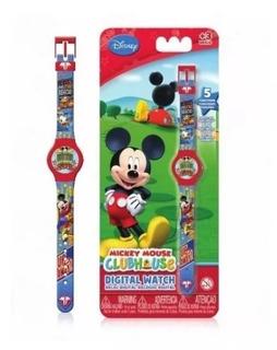 Reloj Pul. Digital 5fun. Digital Mickey Mouse - Intek