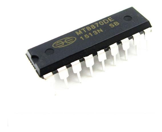 Circuito Integrado Mt8870de Mt8870 8870 Dtmf Decodificador