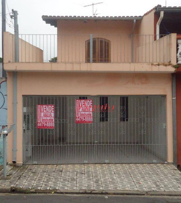Sobrado Residencial À Venda, Parque Novo Oratório, Santo André. - So0751