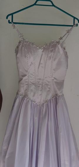 Vestido 15 Años Lila Pastel