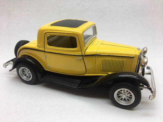 Miniatura De Metal Ford 3-window Coupe Escala 1/34 Ano 1932
