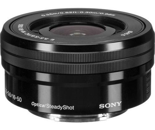 Lente Sony E Pz 16-50mm F/3.5-5.6 Oss - Selp1650 *