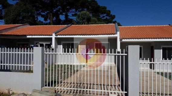 Casa Com 2 Dormitórios À Venda, 51 M² Por R$ 155.000,00 - Conjunto Habitacional Monsenhor Francisco Gorski - Campo Largo/pr - Ca0096