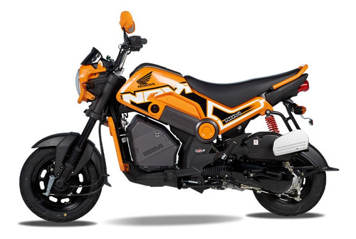 Moto Honda Navi 110 Automática - Naranja