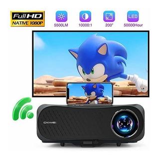 Proyector Native 1080p Bluetooth 5500 Lumen Full Hd Wifi ®