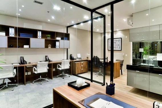 Sala À Venda, 41 M² Por R$ 185.000,00 - Centro - São Bernardo Do Campo/sp - Sa0003