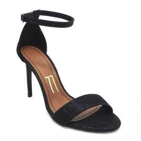 37a854be42 Sandalia De Salto Com Brilhante - Sapatos no Mercado Livre Brasil