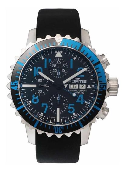 Relógio Fortis B42 Marinemaster Blue Chrono Novo Original %%