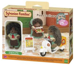 Sylvanian Delivery De Pizza Sylvanian Families