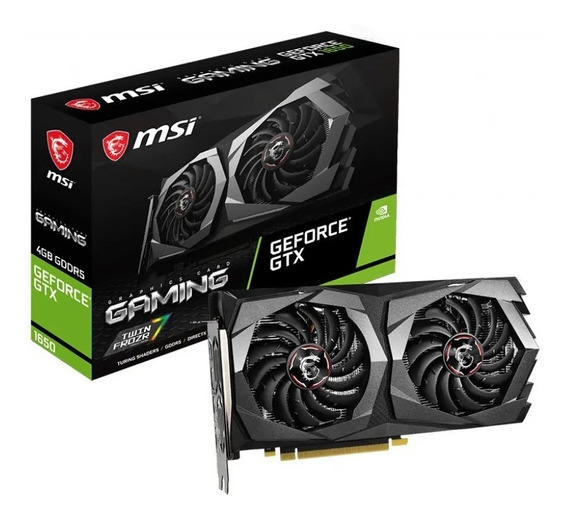 Placa De Video Geforce Gtx 1650 Msi 4gb Gddr5 Gaming Nvidia