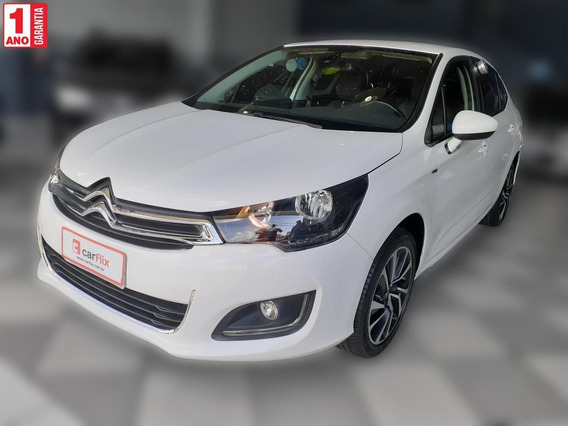 Citroën C4 Lounge Tendance 1.6 Turbo Flex Aut.