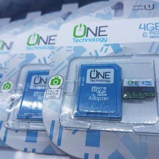 Memoria Micro Sd 4gb One Technology Clase 10 Capacidad Real
