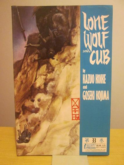 Lote 7 Revistas Lone Wolf And Cub; Lobo Solitário; Importada