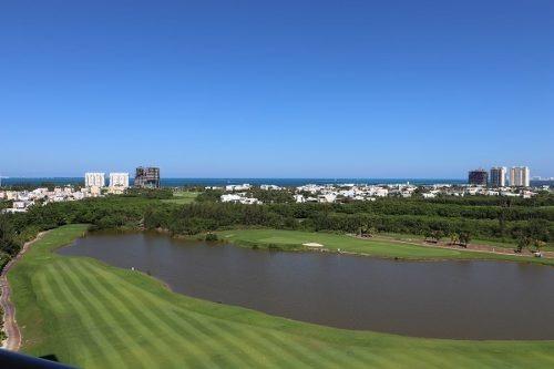 Renta Departamento En Puerto Cancun! Palmeras B. Vista Espectacular Al Mar