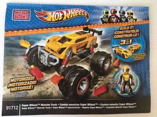 Hot Wheels Mega Blocks