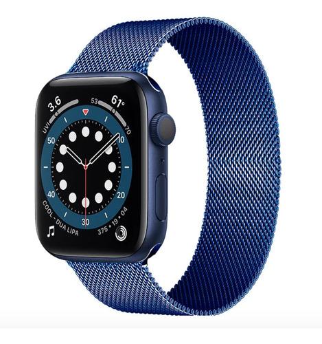 Pulseira Milanese Para Apple Watch 38/40mm Azul - Jetech