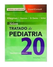 Livro Nelson Tratado De Pediatria 2 Volumes 20 Edição Nota