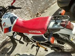 Moto Honda Xlx 350 R, Branca(troco) Moto De Colecionador