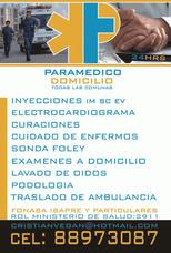 Inyecciones Y Curaciones A Domicilio Todas Las Comunas