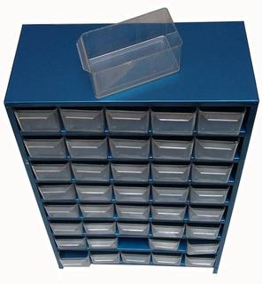 Anaquel Visible Organizador Multiusos D Metal Con 40 Gavetas