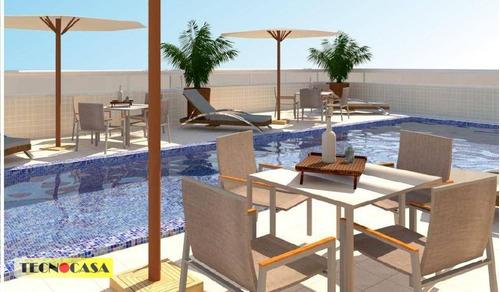 Excelente Apartamento Com 02 Dormitórios Para Venda Com  65 M² No Bairro Campo Da  Aviação Em  Praia Grande/sp. - Ap6580