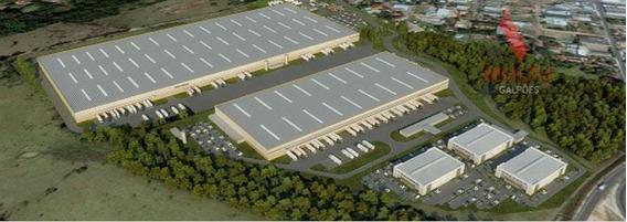 Galpão Industrial Para Locação, Distrito Industrial, Hortolândia. - Ga0073
