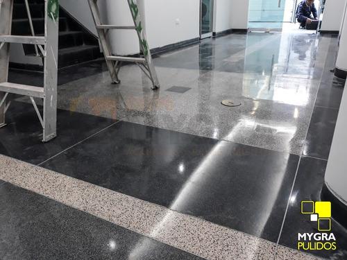 Mantenimiento Pulido Pisos Marmol Granito Terrazo Cemento