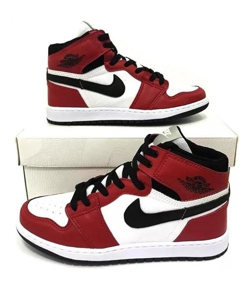 Tênis Jordan 1 Chicago Retro High 12x S/ Juros + Frete
