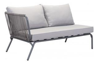 Sofa Para Exterior Modelo Pier Lado Izquierdo - Gris Këssa M